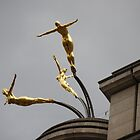 Golden Divers...The Three Graces by Carol Clifford