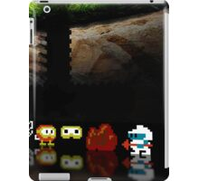 Dig Dug pixel art iPad Case/Skin