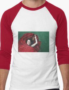 Water Bed Men's Baseball ¾ T-Shirt