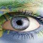 Blue earth Eye by Timmy Lucas Jr