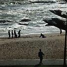 Kids on the beach by Euphemia