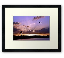 New Day, New Destination Framed Print