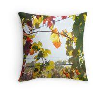 Autumn Bower, Rutherglen Throw Pillow