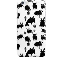 Weebeasts (black) iPhone Case/Skin