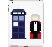 Pixel 3rd Doctor and TARDIS iPad Case/Skin