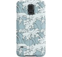 Japanese Waves Art Samsung Galaxy Case/Skin