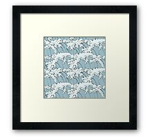 Japanese Waves Art Framed Print