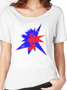 PATRIOTIC SKY Women's Relaxed Fit T-Shirt