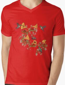 Phono & Fauna Mens V-Neck T-Shirt