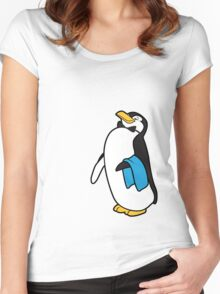 Ms. Poppins Penguin Women's Fitted Scoop T-Shirt