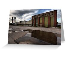 Federal Mill, Geelong Greeting Card