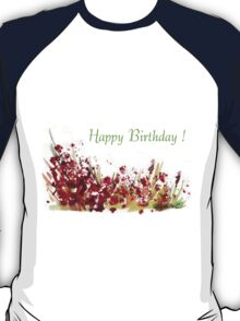 Happy birthday! Happy moments T-Shirt