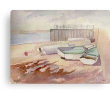 Little Boats Canvas Print