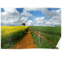 Thriving crops...Dookie. Poster