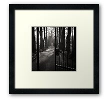Gates to Eternity Framed Print