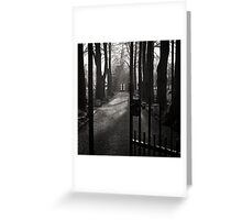 Gates to Eternity Greeting Card