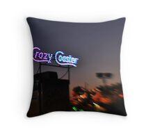 Fair ride at dusk Throw Pillow