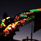 Fair ride at dusk by Terri-Anne Kingsley