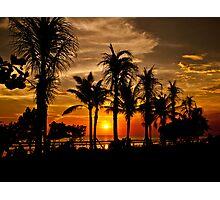 Bali Sunset. Photographic Print