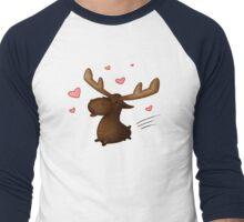 Lovestruck Moose Men's Baseball ¾ T-Shirt