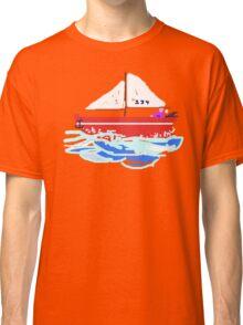 Sail Boat T SHIRT/STICKER Classic T-Shirt
