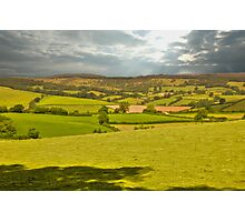 somerset landscape Photographic Print