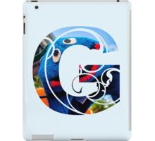 G is for grover iPad Case/Skin