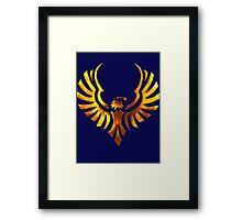 Phoenix - Golden Framed Print