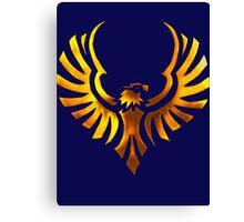 Phoenix - Golden Canvas Print