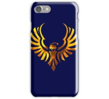 Phoenix - Golden iPhone Case/Skin