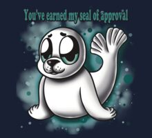 """You've Earned My Seal of Approval"" Kids Tee"