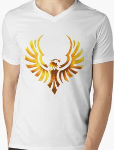 Phoenix - Golden Mens V-Neck T-Shirt