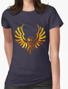 Phoenix - Golden Womens Fitted T-Shirt