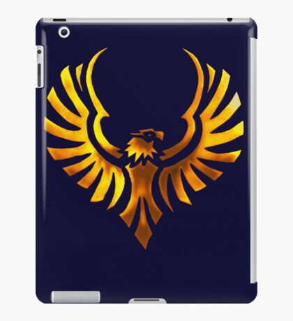 Phoenix - Golden iPad Case/Skin