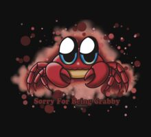 """Sorry For Being Crabby"" Baby Tee"