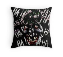 Joker - HAHAHAHAHA Throw Pillow