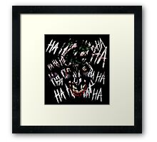 Joker - HAHAHAHAHA Framed Print