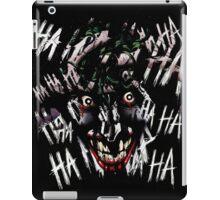 Joker - HAHAHAHAHA iPad Case/Skin