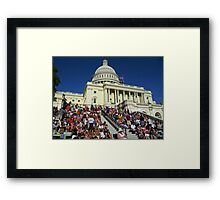 A Capitol 4th of July Framed Print