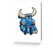 Shovel Knight  Greeting Card