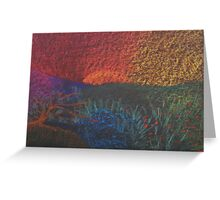 Spring Color Wheel Landscape Greeting Card