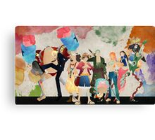 Straw Hat Crew - One piece Canvas Print