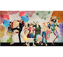 Straw Hat Crew - One piece Photographic Print