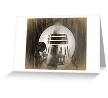 Dalek Renaissance Greeting Card
