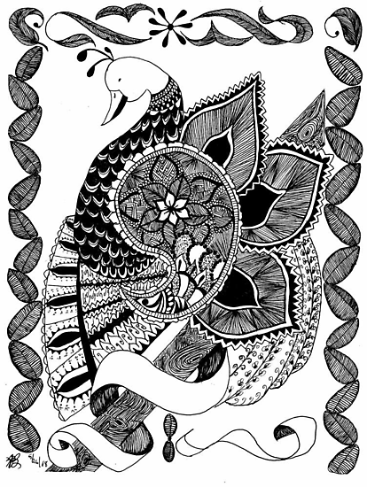 A Partridge by Lenora Brown