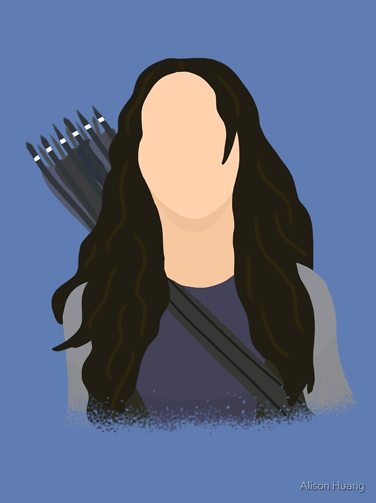 Vector Katniss by Alison Huang