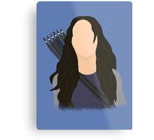 Vector Katniss Metal Print