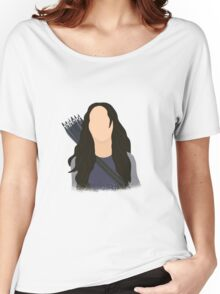 Vector Katniss Women's Relaxed Fit T-Shirt