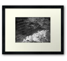 ©HCS Blended In Blue IVA Monochromatic Framed Print