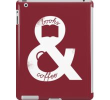 Books and Coffee iPad Case/Skin